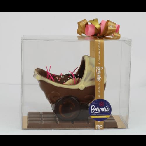 Bonvanie chocolade Chocolade babywiegje met flikken - Bonvanie 3D Chocolade