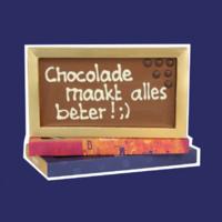 Chocolade tegen examenstress