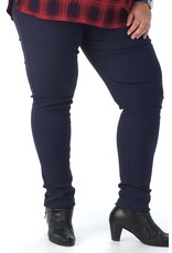 Pantalon slim  CHRISTY bleu marine