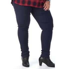 Pantalon slim  CHRISTY bleu marine