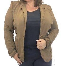 Veste sequin brune