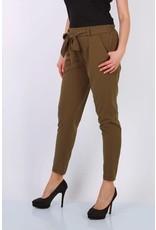 Pantalon ceinture kaki