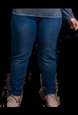 Jeans droit très long