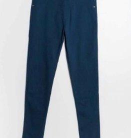 Christy Pantalon slim CHRISTY bleu canard