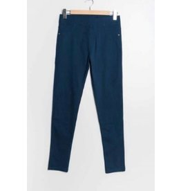 Pantalon slim CHRISTY bleu canard
