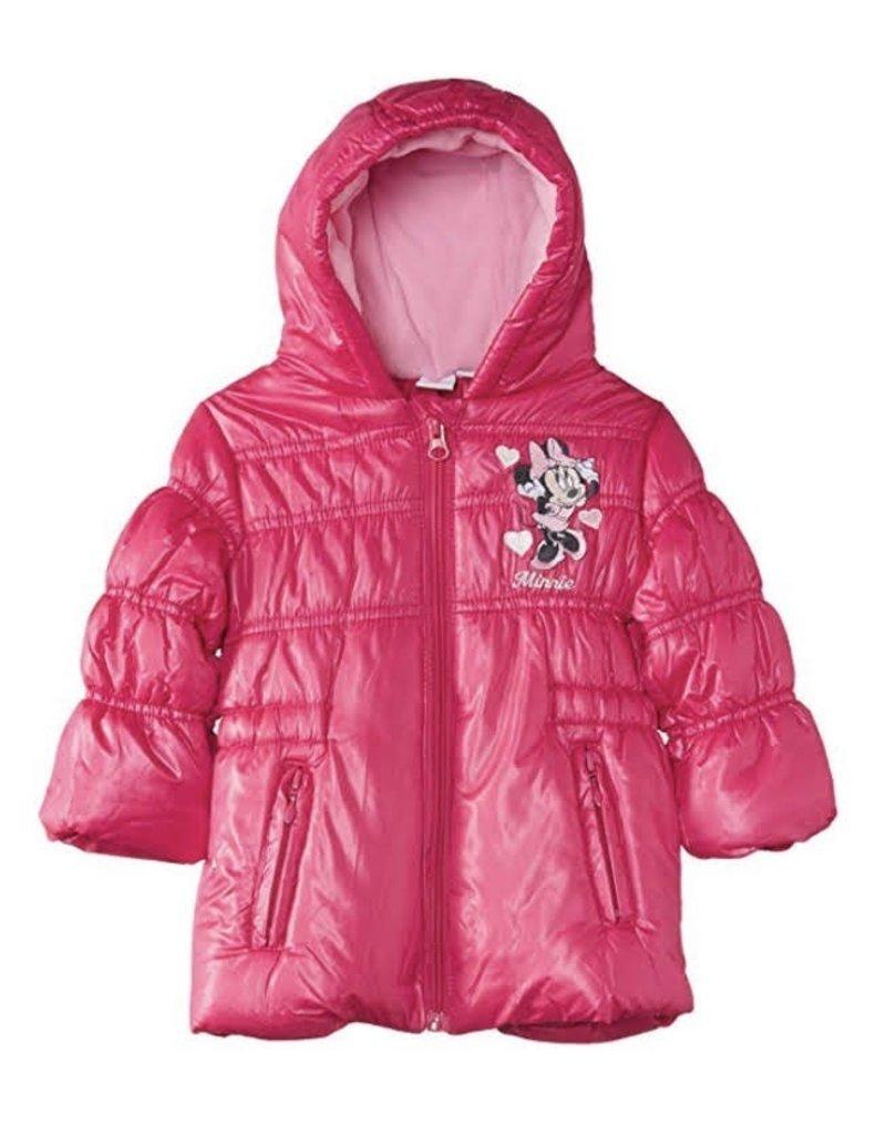 Veste hiver Minnie fushia