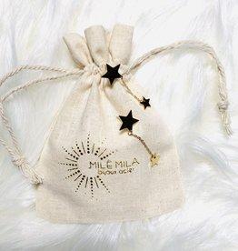 Milé Mila Boucles d'oreille étoile MILE MILA doré