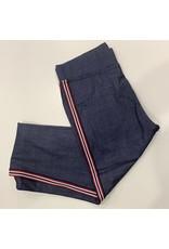 Jeans legging avec ligne sur le coté