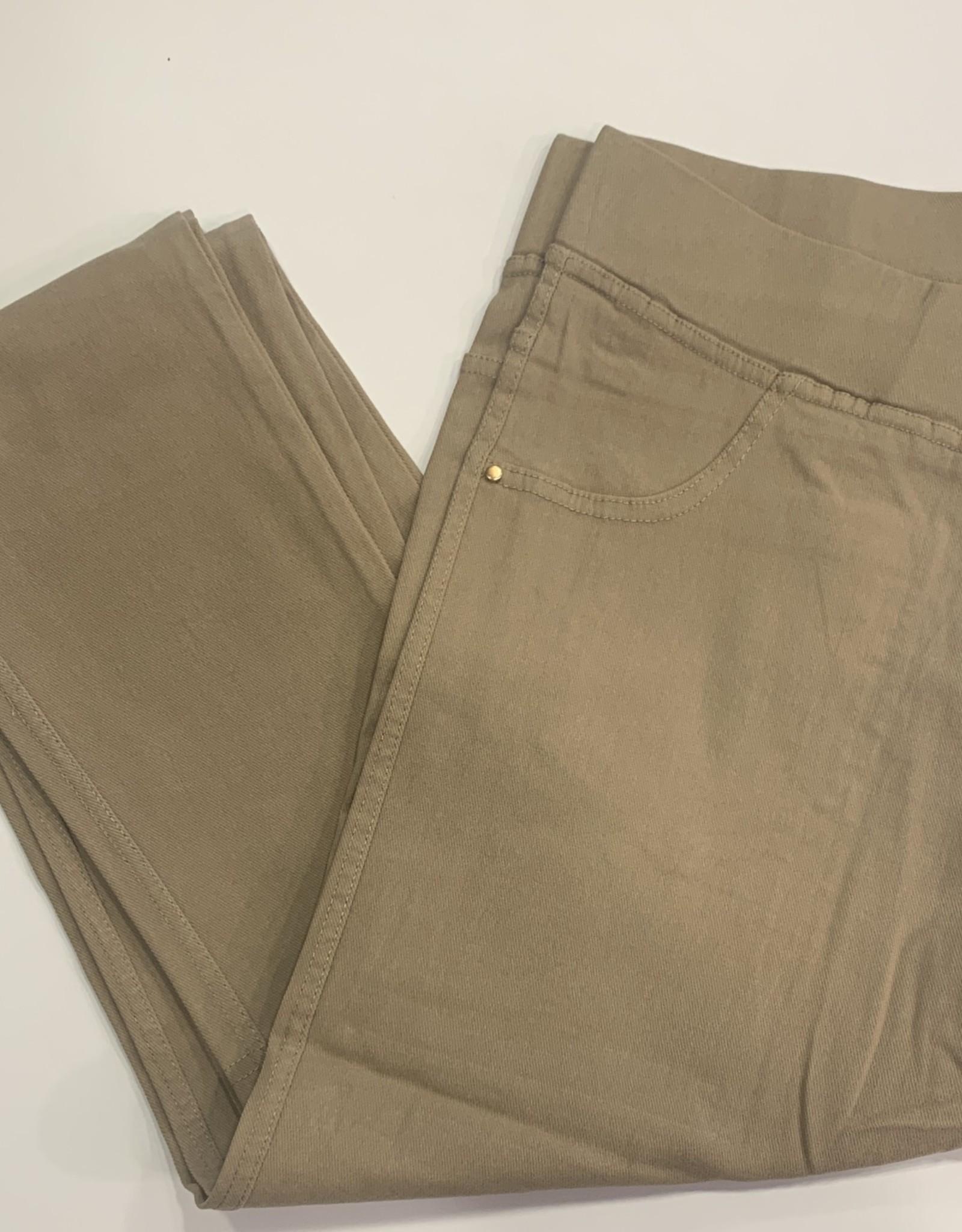 EMB Pantalon slim CHRISTY beige