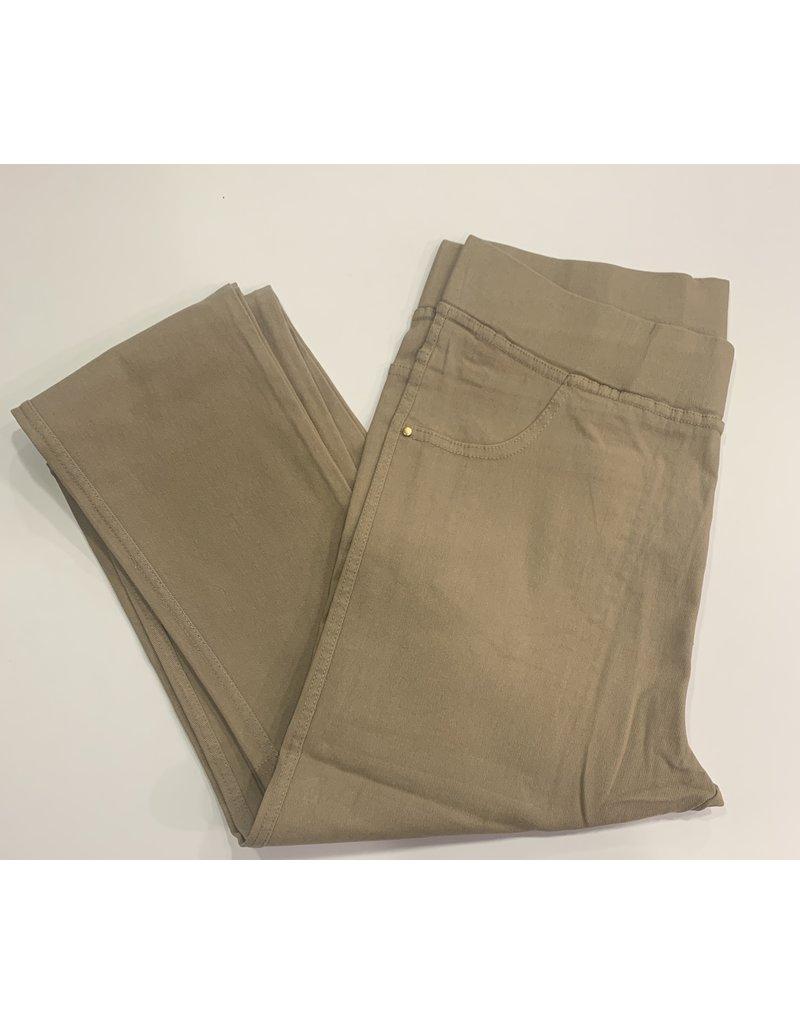 Pantalon slim CHRISTY beige