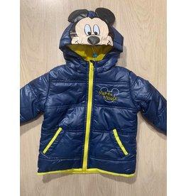 Veste hiver Mickey bleu jaune