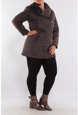 Manteau d'hiver anthracite