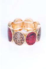 Bracelet brun Bordeaux