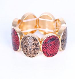 EMB Bracelet brun Bordeaux