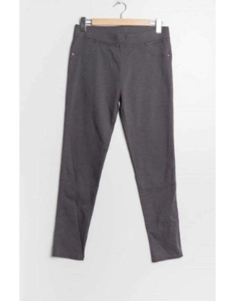 Pantalon slim CHRISTY gris