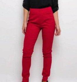 Christy Pantalon slim CHRISTY rouge