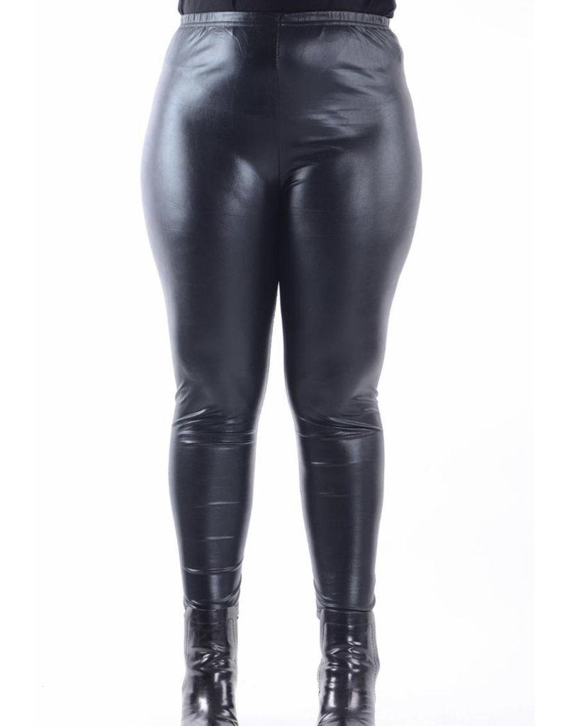 Legging simili noir