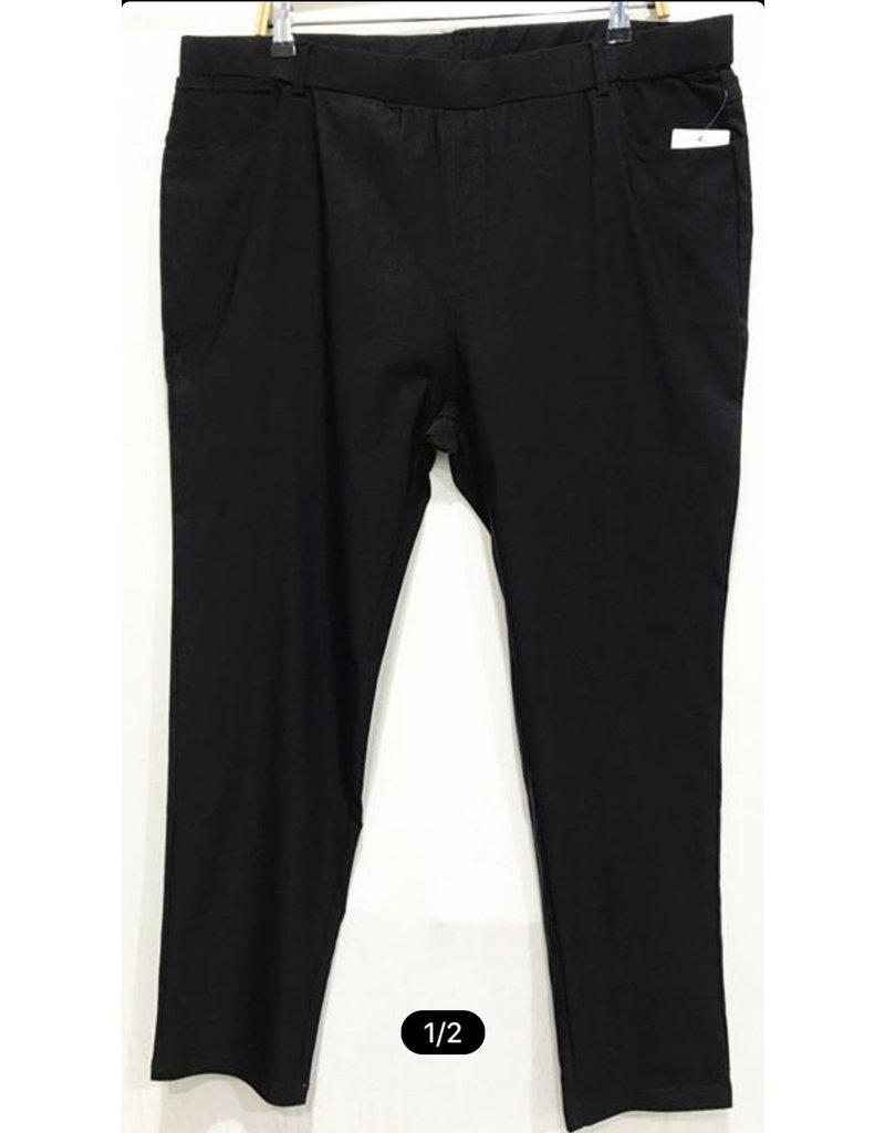 Pantalon noir stretch