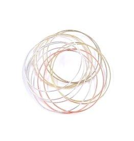 Bracelet couplée 3 couleurs