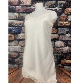 Sous robe dentelle TU blanche