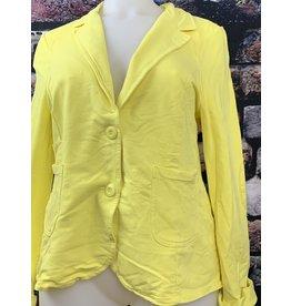 Veste sequin jaune