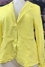 EMB Veste sequin jaune