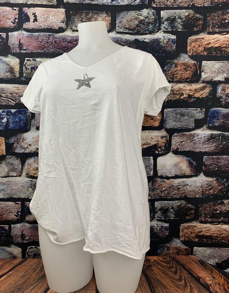 EMB TEE shirt MC etoile