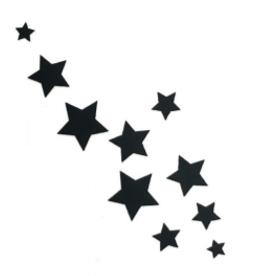 M Paris Envolée d'étoiles (10 pièces)