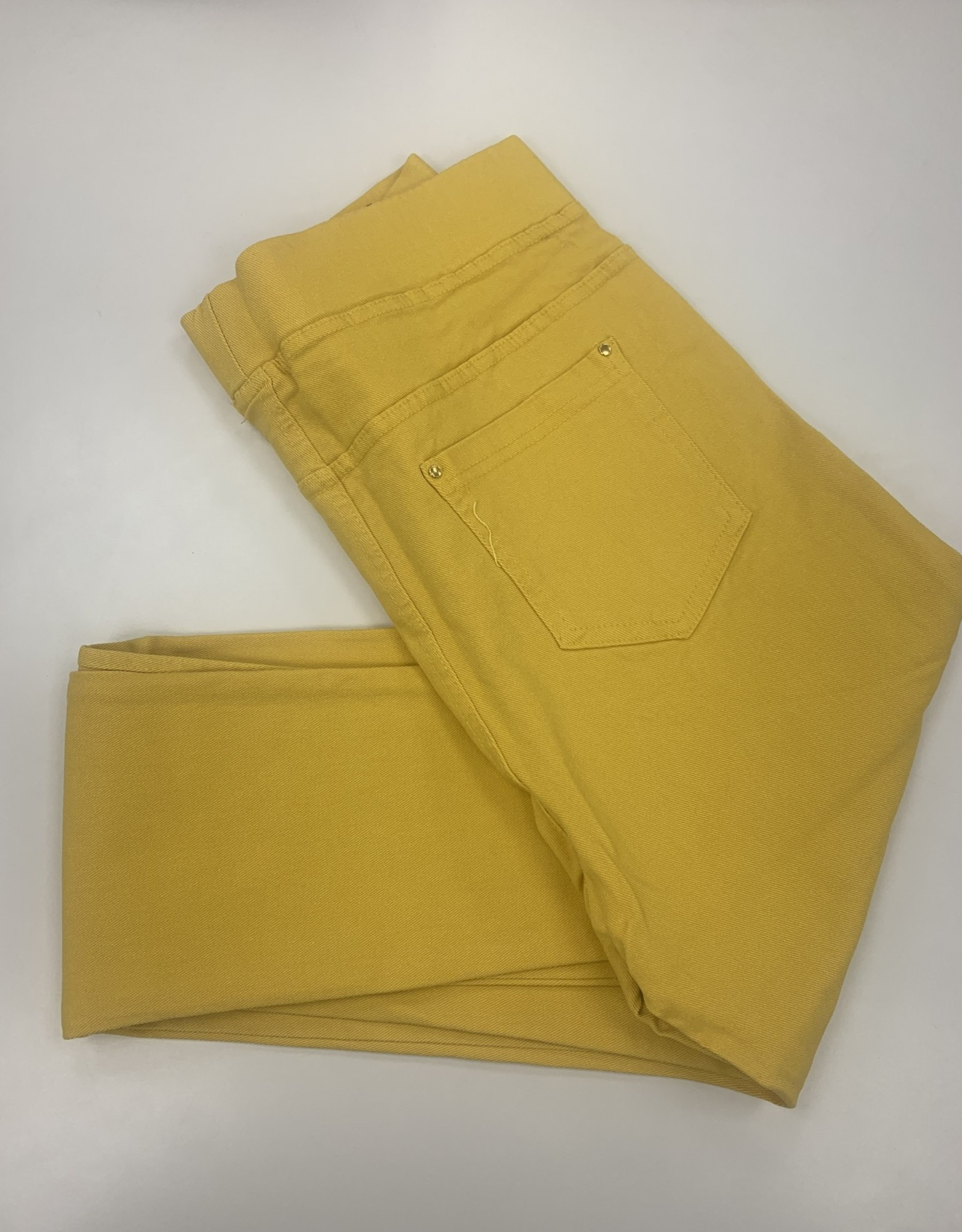 EMB Pantalon slim CHRISTY jaune