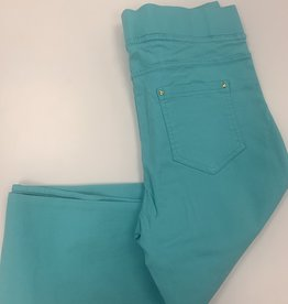Christy Pantalon slim  CHRISTY turquoise
