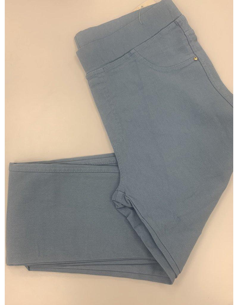 Pantalon slim  CHRISTY bleu clair