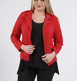 EMB Blazer basic rouge