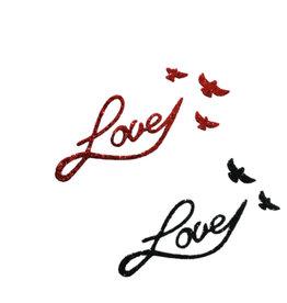 M Paris Romantic love pailletés