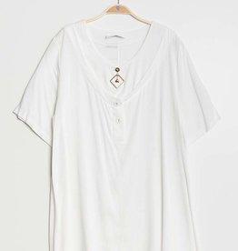 EMB Tunique blanche en lin