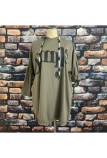 Pull long smile taupe grande taille