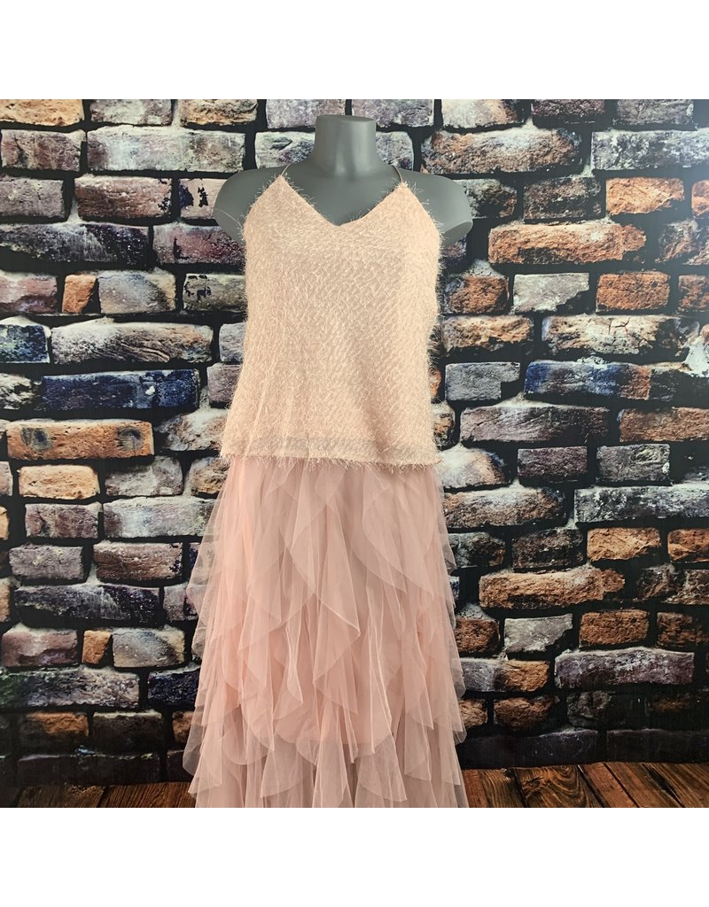 Jupe tulle rose pale