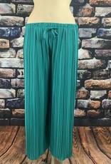 EMB Pantalon fluide turquoise foncé