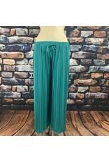 Pantalon fluide turquoise foncé