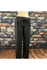 Pantalon ceinture gris