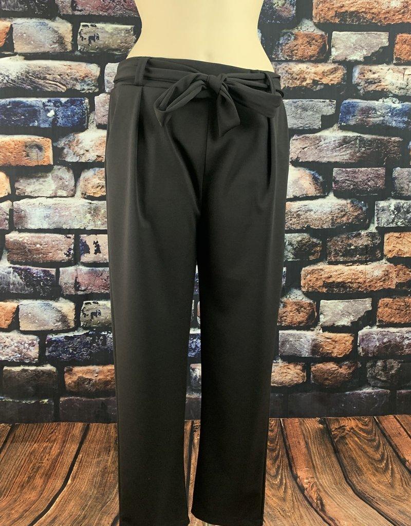 EMB Pantalon ceinture gris