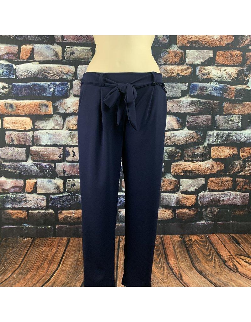 Pantalon ceinture marine