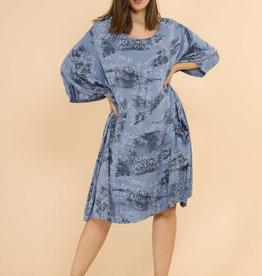 EMB Robe tunique bleu clair Dance