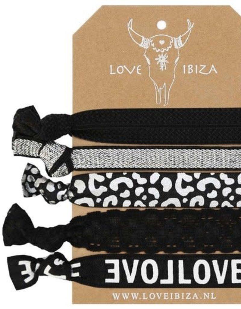 "Love Ibiza Love Ibiza "" Silver Leopard"""