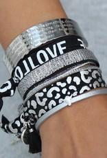 "Love Ibiza Love Ibiza "" Motivation argent"""