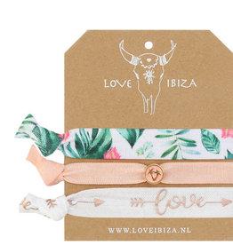 "Love Ibiza Love Ibiza "" White Peach"""