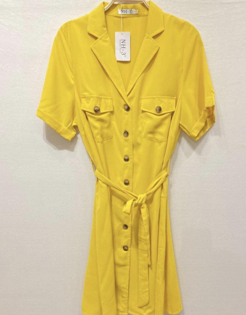 EMB Robe jaune
