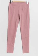 Pantalon slim  CHRISTY rose pale