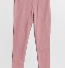 Pantalon slim  CHRISTY rose pale