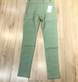 Pantalon slim  CHRISTY vert d'eau