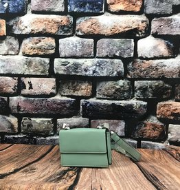 Petit sac à main vert d'eau